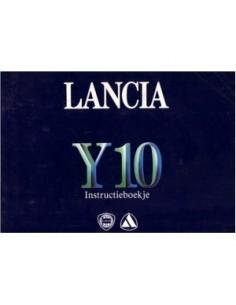 1986 LANCIA Y10 INSTRUCTIEBOEKJE NEDERLANDS