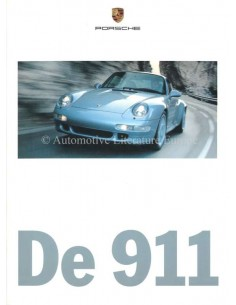 1997 PORSCHE 911 CARRERA TARGA & TURBO BROCHURE NEDERLANDS