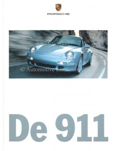 1997 PORSCHE 911 BROCHURE NEDERLANDS