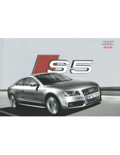 2009 AUDI S5 BROCHURE GERMAN