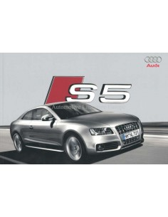 2008 AUDI S5 BROCHURE DUTCH
