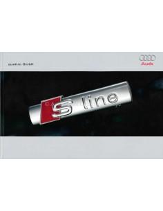2008 AUDI S LINE PROSPEKT ENGLISCH