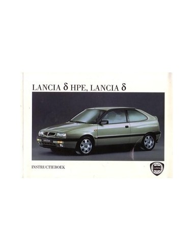 1996 LANCIA DELTA & HPE INSTRUCTIEBOEKJE NEDERLANDS