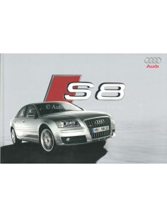 2006 AUDI S8 BROCHURE DUTCH