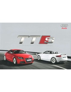 2008 AUDI TTS BROCHURE DUTCH