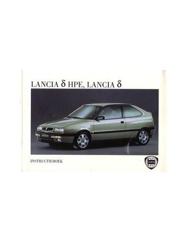 1996 LANCIA DELTA & HPE INSTRUCTIEBOEKJE + MAP