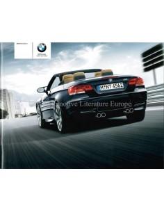 2008 BMW M3 CABRIO PROSPEKT NIEDERLÄNDISCH