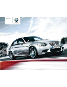2008 BMW M3 SEDAN BROCHURE DUTCH