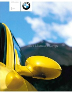 2002 BMW M RANGE BROCHURE DUTCH