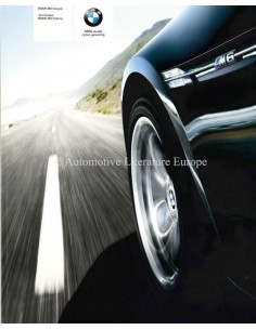 2006 BMW M6 BROCHURE DUTCH