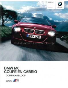 2009 BMW M6 BROCHURE DUTCH