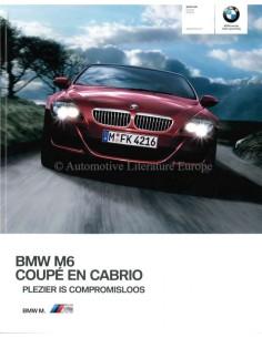 2010 BMW M6 BROCHURE DUTCH