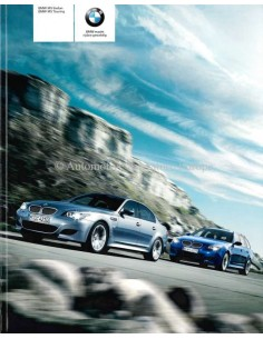 2008 BMW M5 PROSPEKT NIEDERLANDISCH