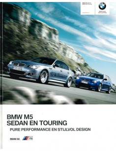 2009 BMW M5 BROCHURE DUTCH