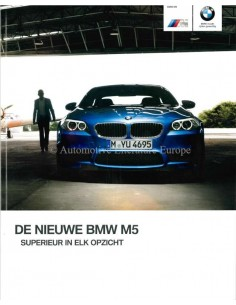 2012 BMW M5 BROCHURE DUTCH