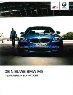 2012 BMW M5 PROSPEKT NIEDERLANDISCH
