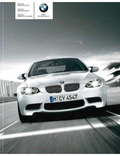 2008 BMW M3 COUPE / LIMOUSINE / CABRIOLET PROSPEKT ENGLISCH