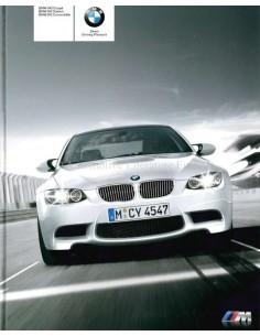 2009 BMW M3 COUPE / LIMOUSINE / CABRIOLET PROSPEKT ENGLISCH