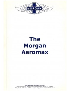 2005 MORGAN AEROMAX BROCHURE ENGLISH