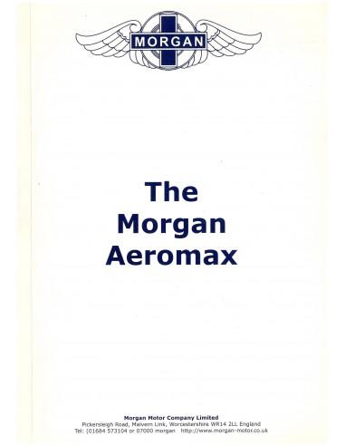 2005 MORGAN AEROMAX BROCHURE ENGLISH