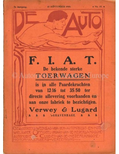 1910 DE AUTO MAGAZINE 37 NEDERLANDS