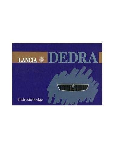 1989 LANCIA DEDRA INSTRUCTIEBOEKJE NEDERLANDS