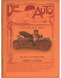 1909 DE AUTO MAGAZINE 46 DUTCH