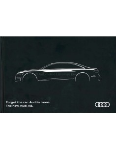 2017 AUDI A8 HARDCOVER BROCHURE ENGLISH