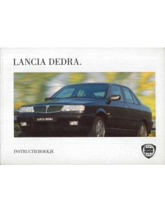 1996 LANCIA DEDRA INSTRUCTIEBOEKJE NEDERLANDS