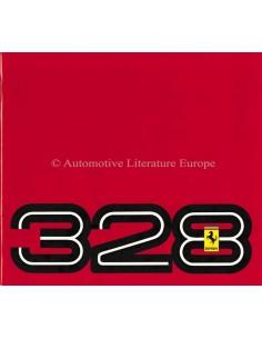 1989 FERRARI 328 GTB & GTS PROSPEKT 394/85