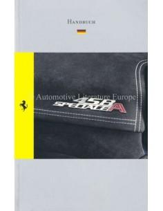 2014 FERRARI 458 SPECIALE APERTA REFERENCE GUIDE OWNERS MANUAL GERMAN