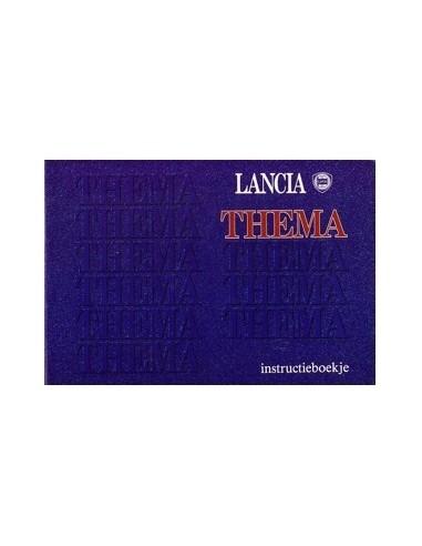 1991 LANCIA THEMA INSTRUCTIEBOEKJE NEDERLANDS