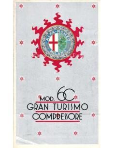 1931 ALFA ROMEO 6C GRAN TURISMO COMPRESSORE PROSPEKT FRANZÖSISCH
