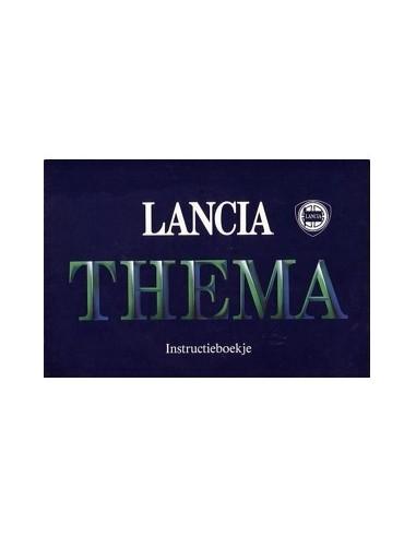 1986 LANCIA THEMA INSTRUCTIEBOEK NEDERLANDS