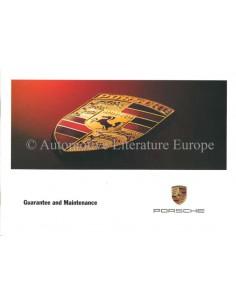 2002 PORSCHE BOXSTER BOXSTER 911 GARANTIE & WARTUNG ENGLISCH