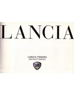 2002 LANCIA PHEDRA & CONNECT NAV+ INSTRUCTIEBOEK NEDERLANDS