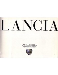2002 LANCIA PHEDRA & CONNECT NAV+ OWNERS MANUAL HANDBOOK DUTCH