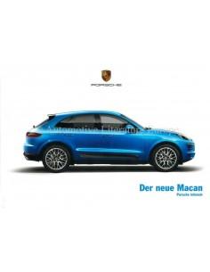 2014 PORSCHE MACAN HARDCOVER BROCHURE GERMAN