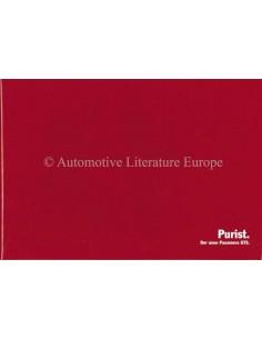 2012 PORSCHE PANAMERA GTS HARDCOVER BROCHURE GERMAN