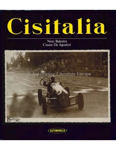 CISITALIA - NINO BALESTRA & CESARE DE AGOSTINI - BOEK