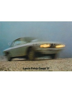 1973 LANCIA FULVIA COUPE 3 PROSPEKT NIEDERLÄNDISCH