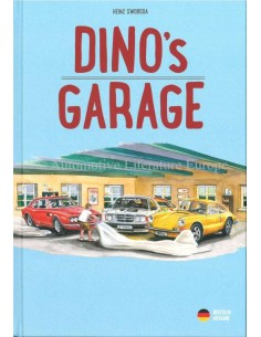 DINO'S GARAGE - HEINZ SWOBODA - BOOK - GERMAN