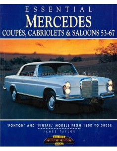 MERCEDES: SALOONS, COUPÉS AND CABRIOLETS - BOOK