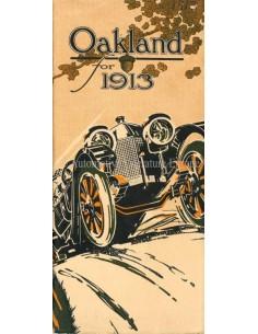 1913 OAKLAND PROGRAMM PROSPEKT ENGLISCH (USA)