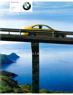 2000 BMW M PROGRAMM PROSPEKT NIEDERLÄNDISCH