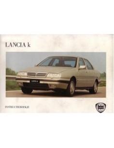 1995 LANCIA KAPPA INSTRUCTIEBOEK NEDERLANDS