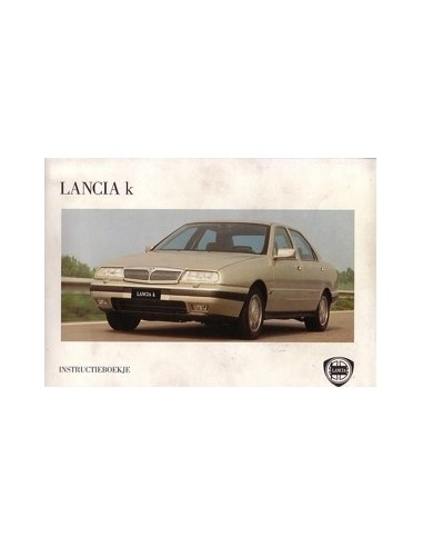1995 LANCIA KAPPA INSTRUCTIEBOEK NEDERLANDS