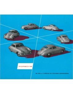 1954 PORSCHE 356 BROCHURE DUITS