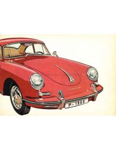 1959 PORSCHE 356 B BROCHURE ENGLISH