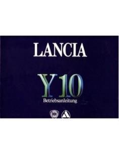 1985 LANCIA Y10 OWNERS MANUAL BETRIEBSANLEITUNG GERMAN
